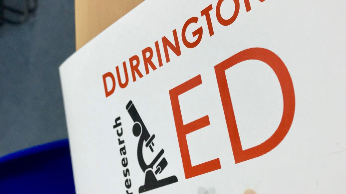 ResearchEd Durrington: Takeaways